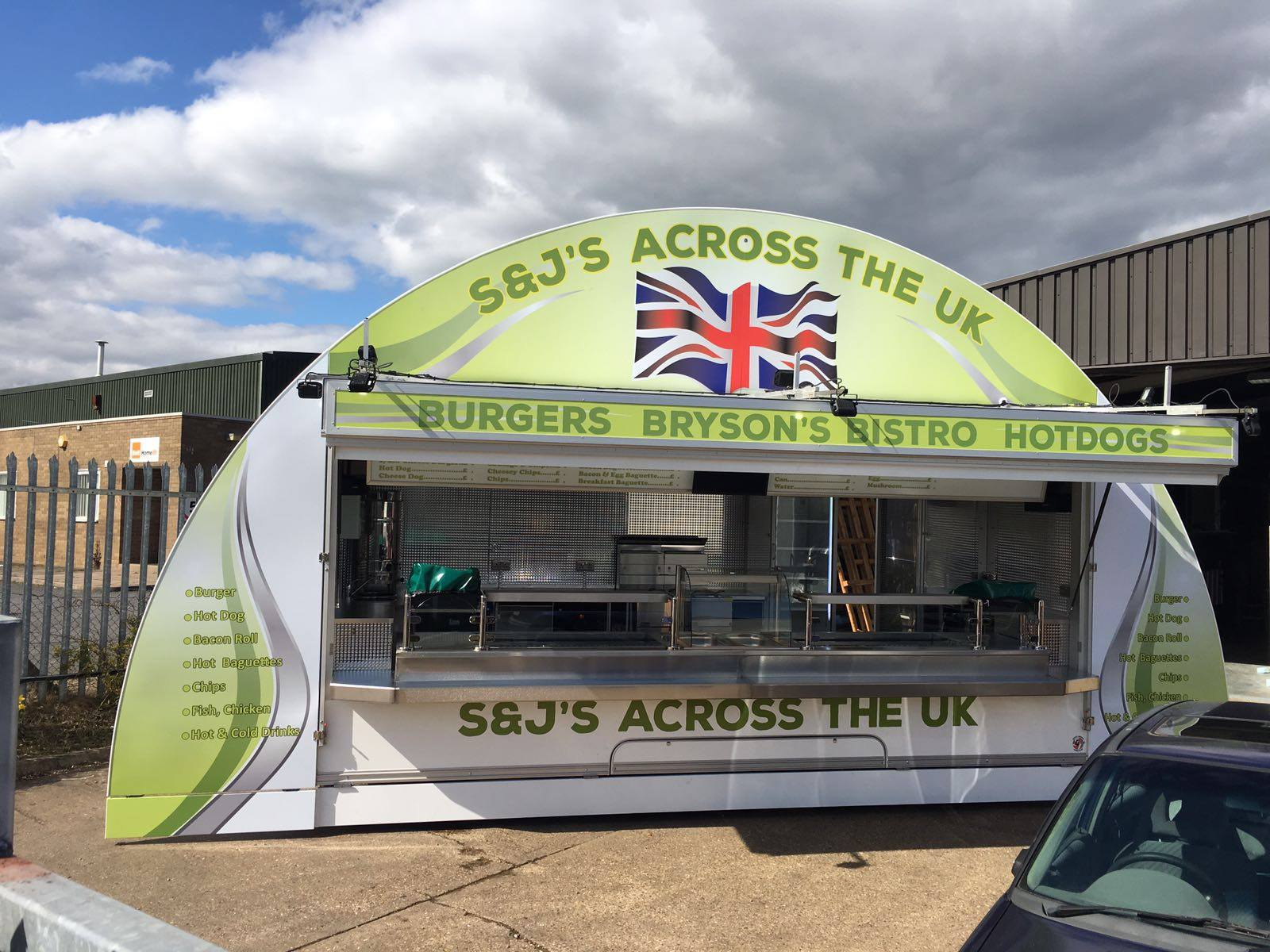 S & J Mobile Catering, Static Catering Units -The ultimate in mobile Catering Unit 2 Hampshire, Berkshire, Dorset, Surrey, Wiltshire and the UK Events and Function Catering 11